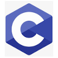 C programming language logo