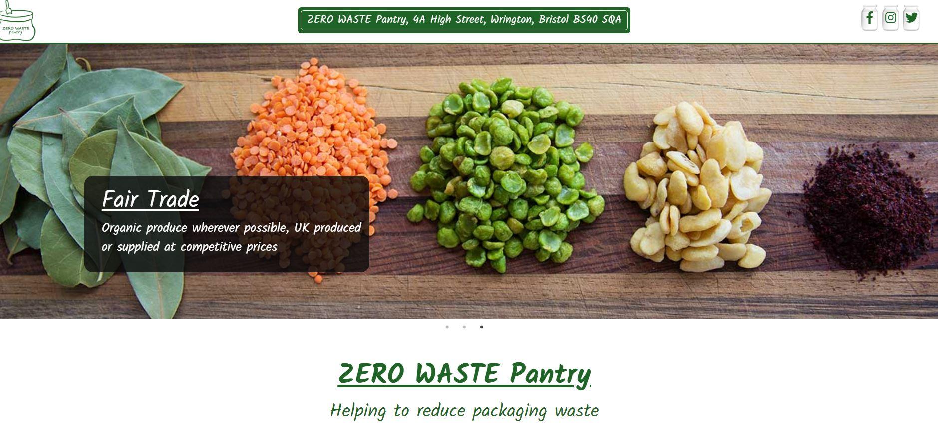 Zero Waste Pantry