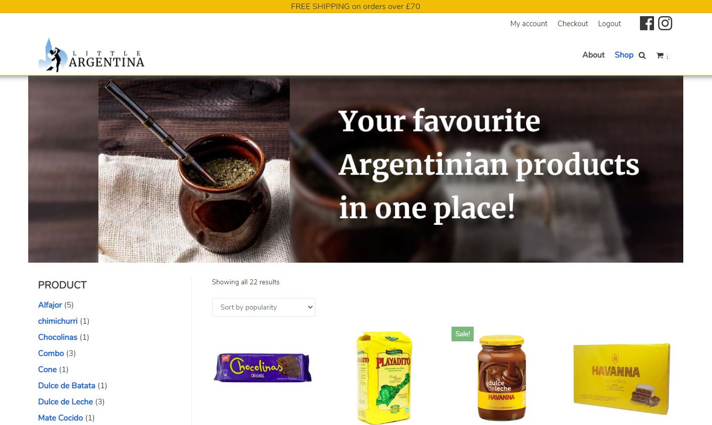 Little argentina home page